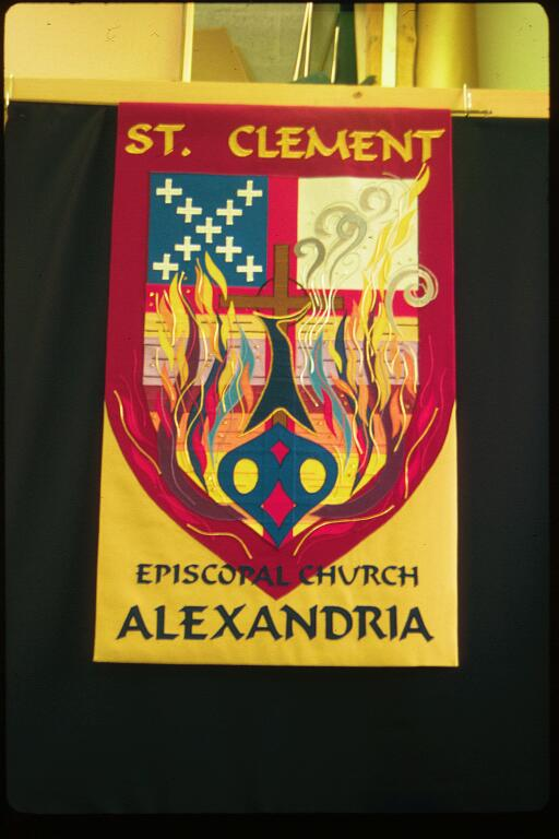 appliqued banners